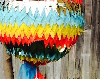 Piñata with tassel decoration