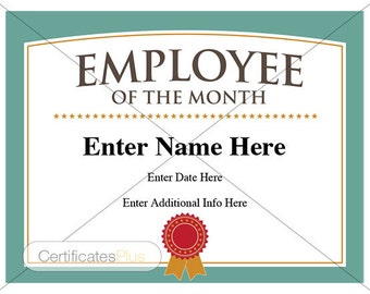 Certificate of appreciation award business certificate employee of the month certificate business award employee recognition business employee of yadclub Choice Image