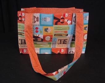 Kitchen theme tote bag