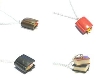 Bibliophile - Book Necklaces