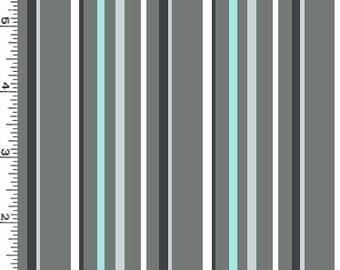 Stone Grey Trek Stripes from Michael Miller's Trekking Collection