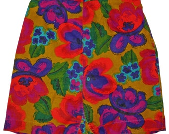 1960s Womens Shorts Sz 6 Vintage Retro