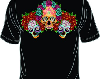 present for her present for him. Day of the dead