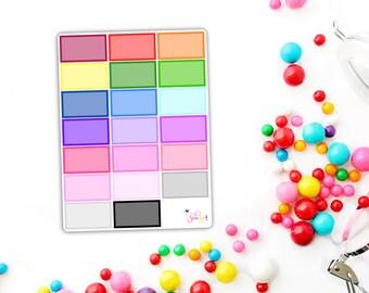 Rainbow Halfboxes