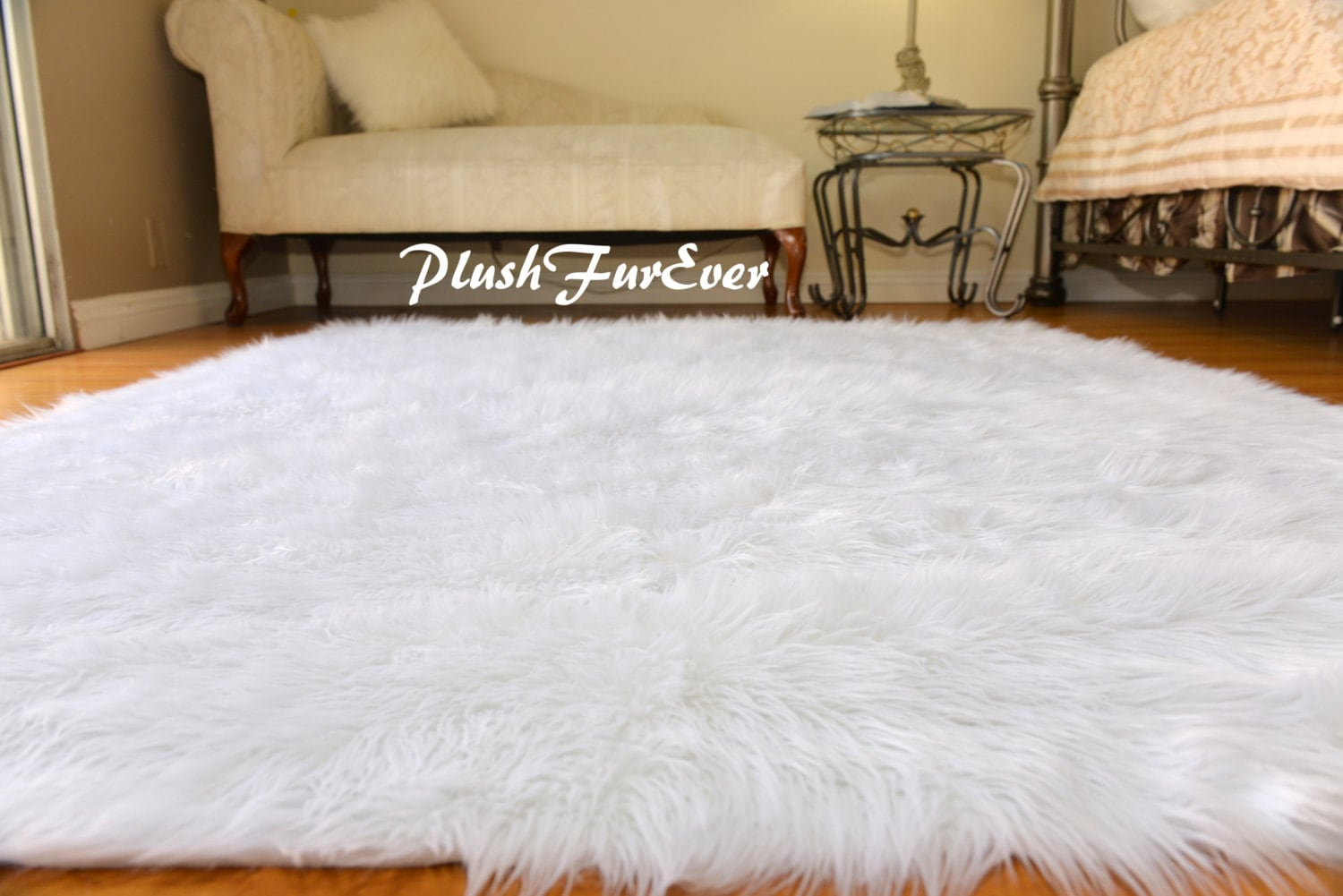 Excellent Large Discount Faux Fur Rugs Shaggy Area Rug Sheepskin CB03