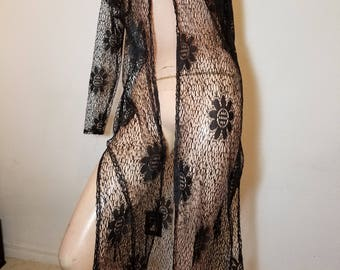 Sold.  FREE  SHIPPING    Lace  Tunic  Duster