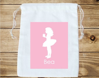Tutu Personalized Favor Bag