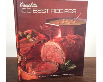 Vintage Campbell's Cookbook, Vintage Recipe Book, Vintage Cookbook, 1970s Cookbook