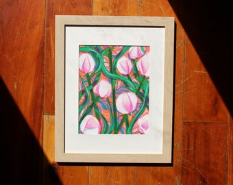 Flower Print, Spring Sprang Sprung