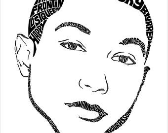 Pharrell Type Print