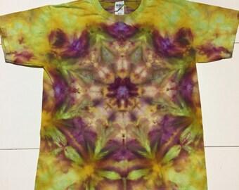 Tie Dye T Shirt, Youth Medium Tshirt, Tie Dye, Tie Dye Mandala, Kids T Shirt, Kids Tie Dye, Hippie Kid