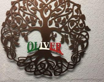 Celtic Family Tree of Life Italian Style