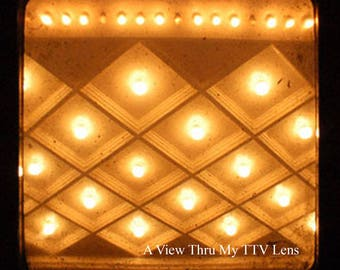 INSTANT DOWNLOAD of Theater Lights , ttv photography, print from home