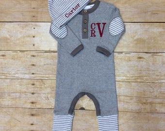 Coming Home Outfits for Newborn Baby Boy- Baby Boy Going Home Outfit- Baby Shower Gift