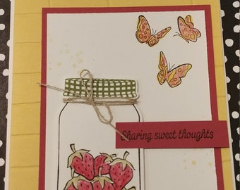 Sweet Thoughts Card