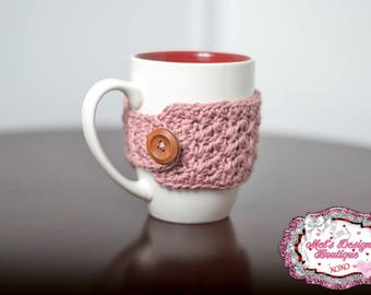 mug cozy, crochet cozy, coffee cozy, tea cozy, cup cozy, cozie, crochet, ready to ship, office gift, mug warmer, cup sleeve, teachers gift