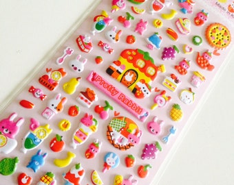 Stickers Filofaxing kawaii 3D (A 856)