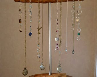 long necklaces  display stand