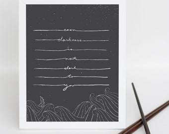 Stormy Night Print