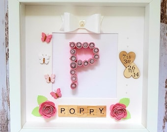 Origami Letter Picture Frame