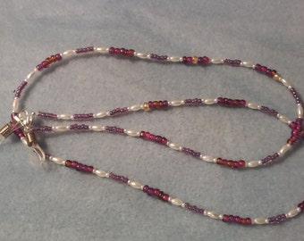 Eye Glass Holder Necklace {E-16-18}