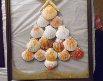 Sea Shell Christmas Tree