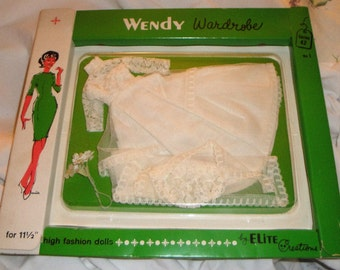 Wendy Mint in Box and Never Removed from Box Wedding Ensemble by Elite Creations