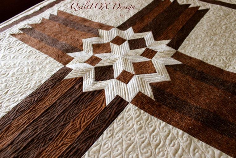 Cross Quilt Pattern Carpenters Star Christian Cross