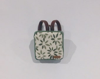 """A Miniature Backpack in 1:24 scale 1/2"""""""