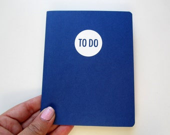 To do list tracker / notebook with custom color cover