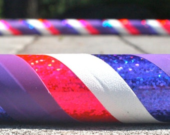 Collapsible Hula hoop- Strawberry Shortcake- Pink, purple, and white