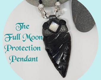 The Full Moon Protection Pendant