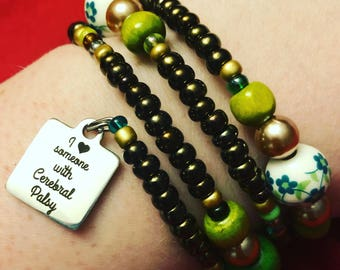 I Love Someone With Cerebral Palsy Bracelet