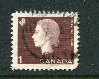 Queen Elizabeth II Stamps From Canada /Bulk Brown Used Stamps/Brown Stamps