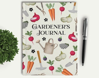 Gardening Journal, Gardener's Notebook, Mother's Day, Gift for Mom, Garden Gift, Garden Lover, Gift Idea for Mom, Spring Gift, 18026J