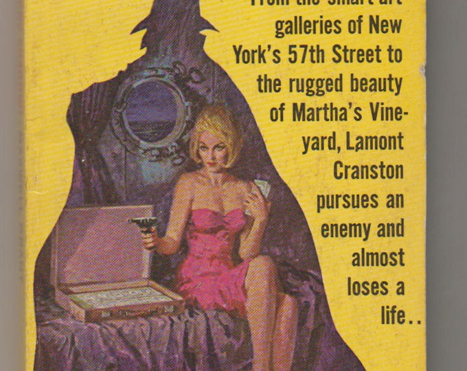 1965 Cry Shadow, Paperback Book 1st Printing.  Maxwell Grant (Dennis Lynds). FN. Belmont Books