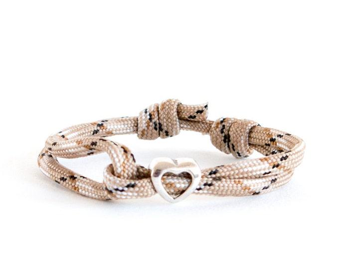 Mens Bracelet, Climbing Rope Bracelet, Rock Climbing Gifts, Rock Climbing Jewelry