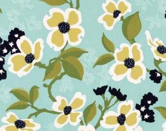 SALE Joel Dewberry Modern Meadow Dogwood Bloom quilting cotton Fabric Canada/ half yard