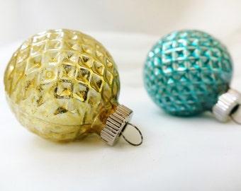 Shiny Brite | Vintage Glass | Christmas Tree Ornaments