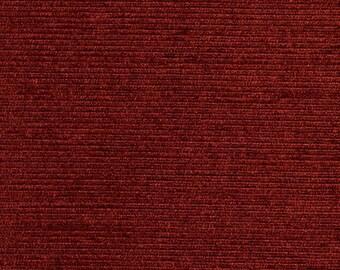 Burgundy Textured Upholstery Fabric