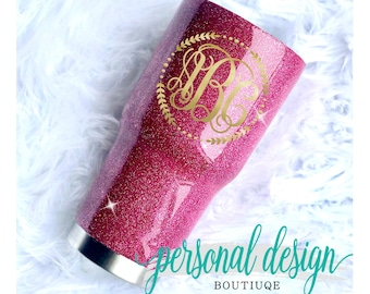 Personalized Gift for Mom, Birthday Gift Women, Glitter Yeti Tumbler, Gift for Her, Yeti Cup, Monogram Tumbler Personalized, Glitter Tumbler