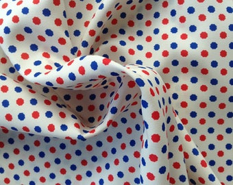 Light weight silky fabric perfect for sewing blouses, dresses and scarves