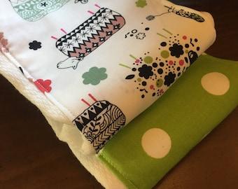 Count The Sheep Burp Cloth Set- Item 91
