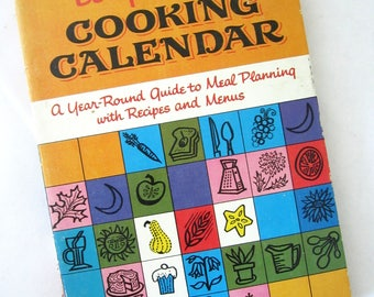 BETTY CROCKER'S Cooking Calendar COOKBOOK