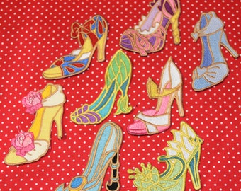 Disney Princess Shoes iron on patch
