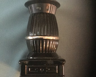 Avon Pot-Bellied Stove Aftershave Bottle