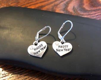 Sale - Happy new Year Earrings
