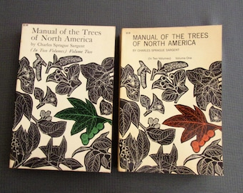 Manual Of The Trees Of North America--2 Volumes--1965--softback