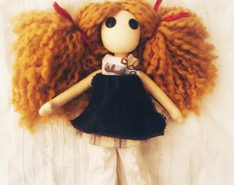 Calamity Hart OOAK Art Doll Cloth