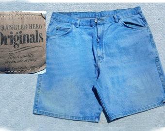 jeans en denim shorts homme - Short en jean pour homme, short en Jean homme - Short en jean bleu, le short des années 90, taille 40 shorts, # 268